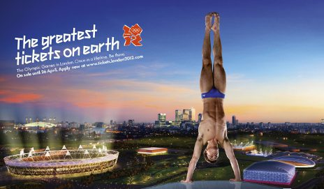 2012 Olympic games tickets poster