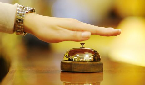 A hotel bell