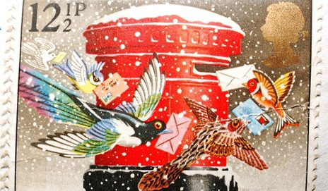Christmas stamp from the 1970s