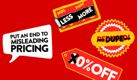 Put an end to misleading pricing