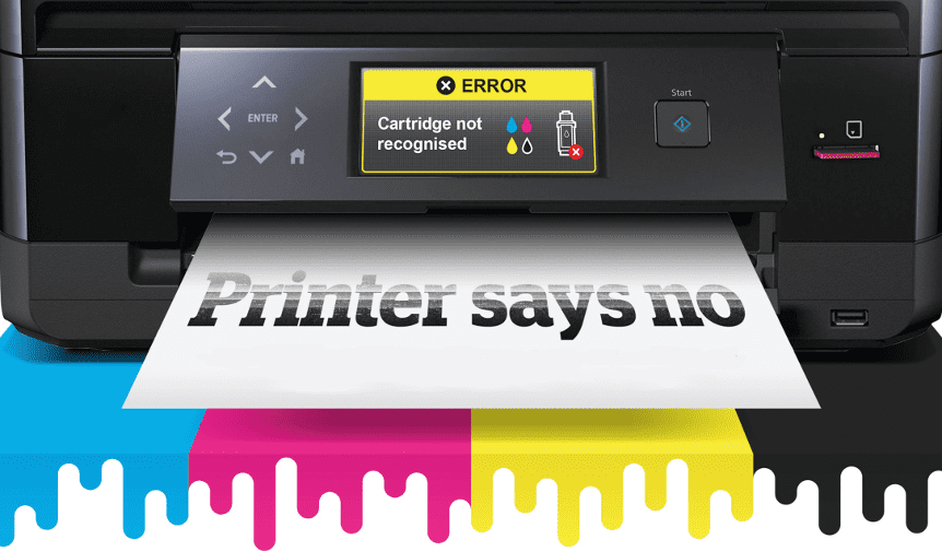 Has your printer stopped accepting third-party ink