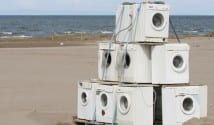 washing-machines-on-beach