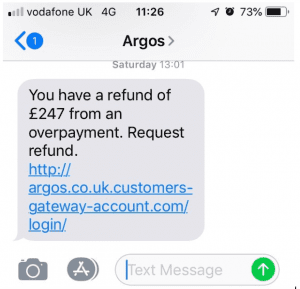 Beware this Argos number spoofing scam – Which? Conversation