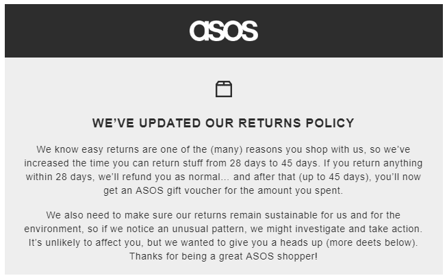 Asos returns: will the new policy put you off? – Which